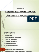 Seismic Retrofitting of Columns & Foundations
