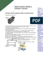 Brother Inkjet Refill Instructions