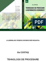 Tehnologii de procesare a informatiei economice