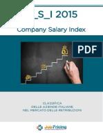 Company Salary Index 2015