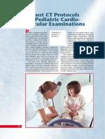 Protocol MSCT 16 for Pediatric Cardiovasc