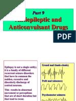antiepileptic and anticonvulsant
