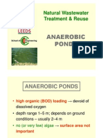 7.0 Anaerobic Ponds