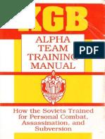 KGB Alpha Team Training Manual