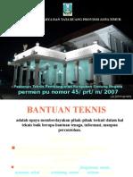 PermenPU 45 2007 Pedoman Teknis Pembangunan BGN