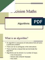 D1,L1 Algorithms.ppt
