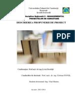 Managementul Proiectelor de Cercetare