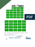 SAP Contents