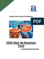 CDGI Startup Business Fund - Initikb.,al Document