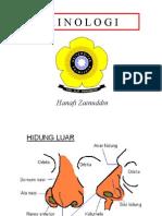 Zainuddin H-kuliah Rinologi