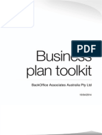 Business Plan Toolkit