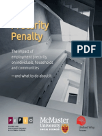 Precarity Penalty Study