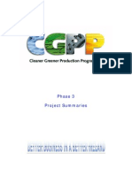 cgpp phase3 project summaries