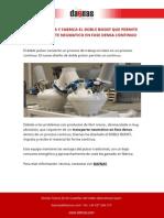 Daenas Fabrica El Doble Boost Que Permite Un Transporte Neumatico en Fase Densa Continuo