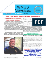 WMGS 2015 Summer Newsletter