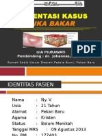 Gya-case Luka Bakar