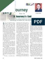 My Journey Pt 16