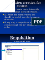Requisition Creation