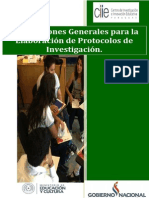 Orientaciones Generales Del Protocolo