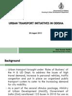 Urban Traddansport Initiatives in Odisha