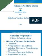 Curso de Práticas de Auditoria Interna_ECPBG_2013-2014_Métodos e Técnicas_02 (Rev. Abr-2015)