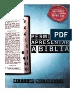 Permita-me Apresentar a Bíblia - William MacDonald