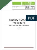 QSP 520 01 Quality Planning