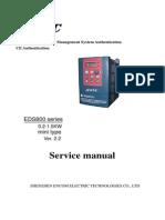 EDS800 Manual
