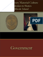 American Revolution - Colonies to States - Rhode Island