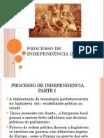 Processo de Independência Dos E Ua 1