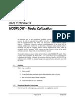 MODFLOW-ModelCalibration