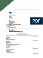 Licenciatura en Biotecnologia