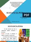 Termodinámica - Sustancia Pura