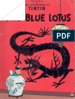 05 Tintin and the Blue Lotus