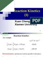 Reaction Kinetics(1)