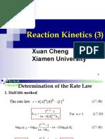 Reaction Kinetics(3)