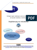 Wordpress Alapok - Segédanyag Az Induláshoz