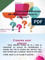 Avantajele crearii unei afaceri in Romania