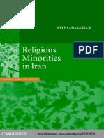 IRAN Religious Minorities in Iran Book