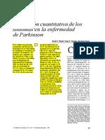 Pineda, D., Sánchez, J. y Arana, A. (1996) Evaluación Cuantitativa de Los Síntomas en La Enfermedad de Parkinson
