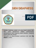Sudden Deafness 150522
