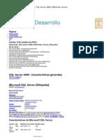 Aegxxi - Desarrollo Revisando SQL Server 2008, Definición, Cursos, Manuales - 09-10-2012