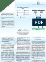 Brochure Conflicto de Intereses 2015