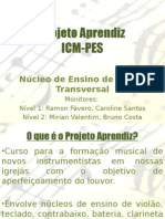 Abertura - Flauta Transversal - Projeto Aprendiz VV - 2012