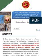 FORMULACION DE PRYECTOS DE INVERSION PUBLICA Y PRIVADAS