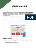 Sistema de Información Gerencial(Informe)