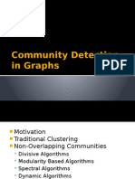 Community Detection in Graphs