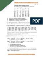 Ejercicios Propuestos de Estadística Segunda Tarea
