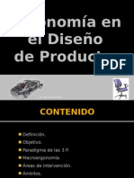 III - Ergonomia Diseño Productos