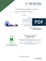 Protocolos SINERGIA Madeira